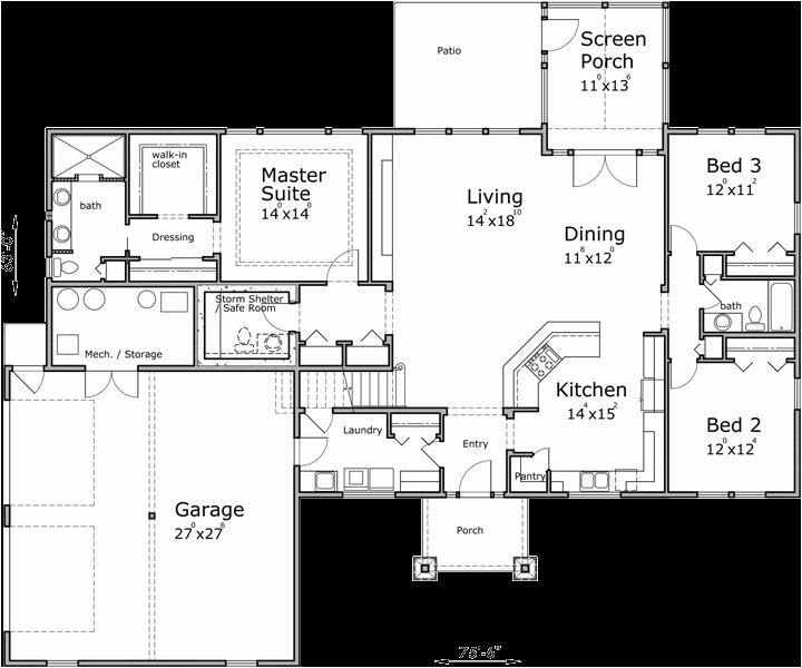 safe house plans