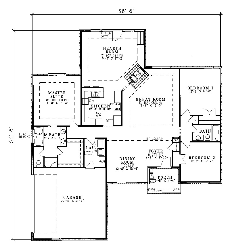 traditional house floor plans