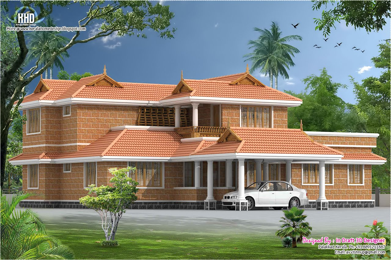 traditional house plans in kerala