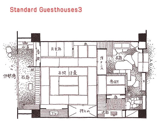 japanese traditional house floor plan