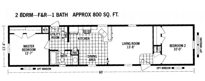 trailer homes floor plans create home 4