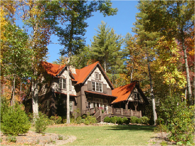 rock mountain cottage