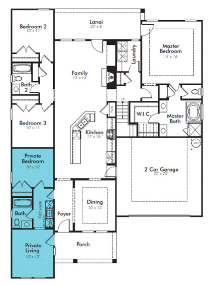 latest trend house design home within home
