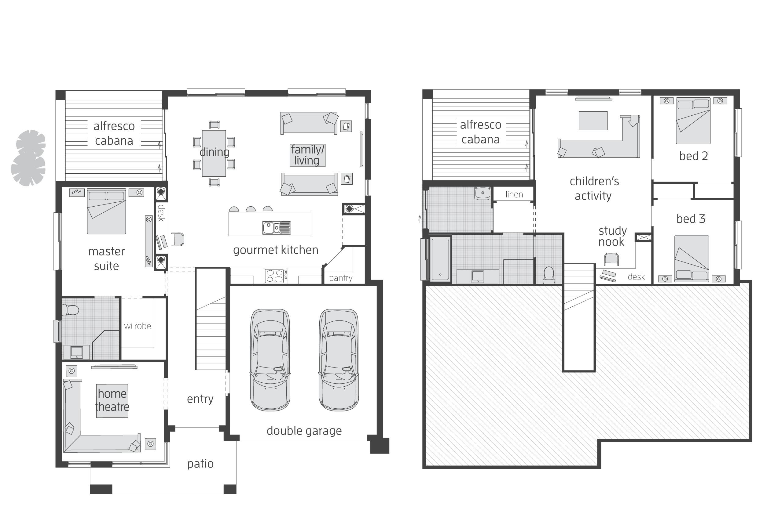 tri split level house plans unique plan td craftsman split level
