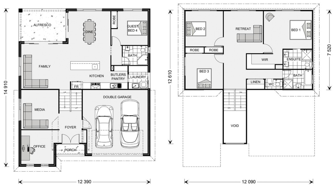 elevated house floor plans