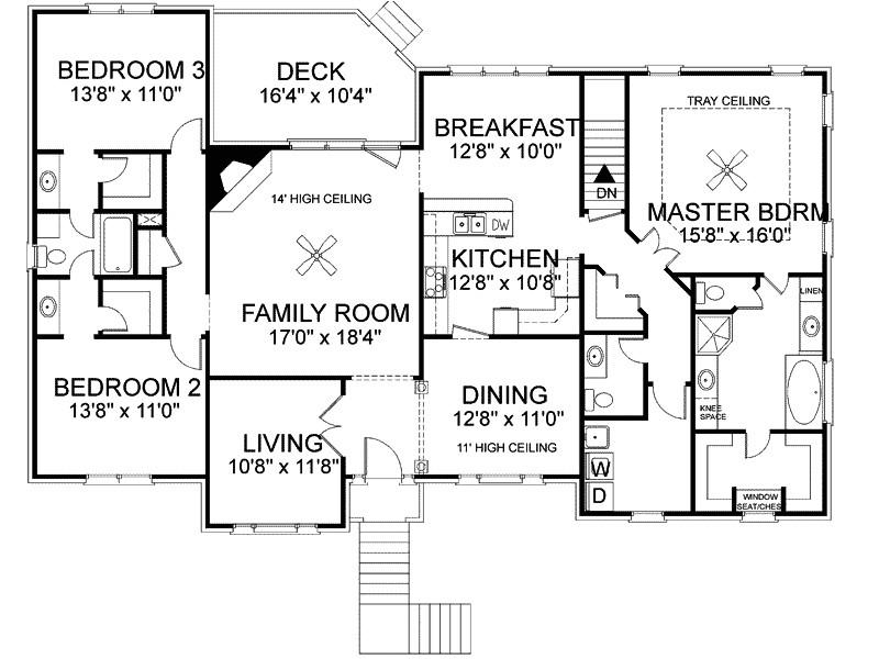 tri level home plans designs