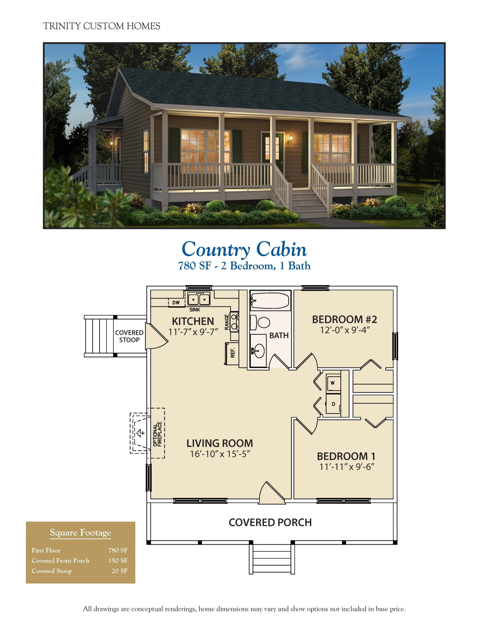 country cabin