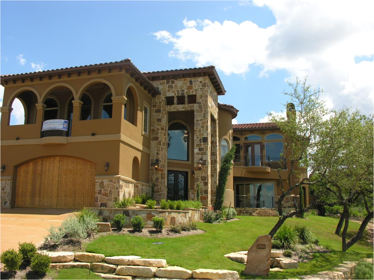 new tuscan style house plans