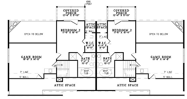 superb twin home plans 13 twin home floor plans
