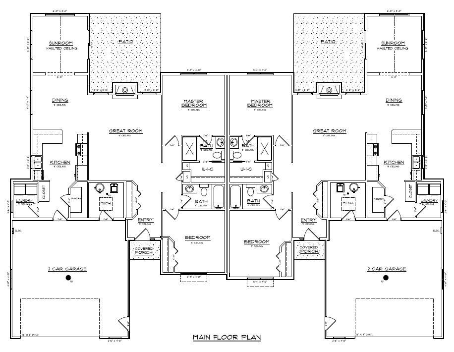 Twin Home Plans Twin Home Plans Newsonair org