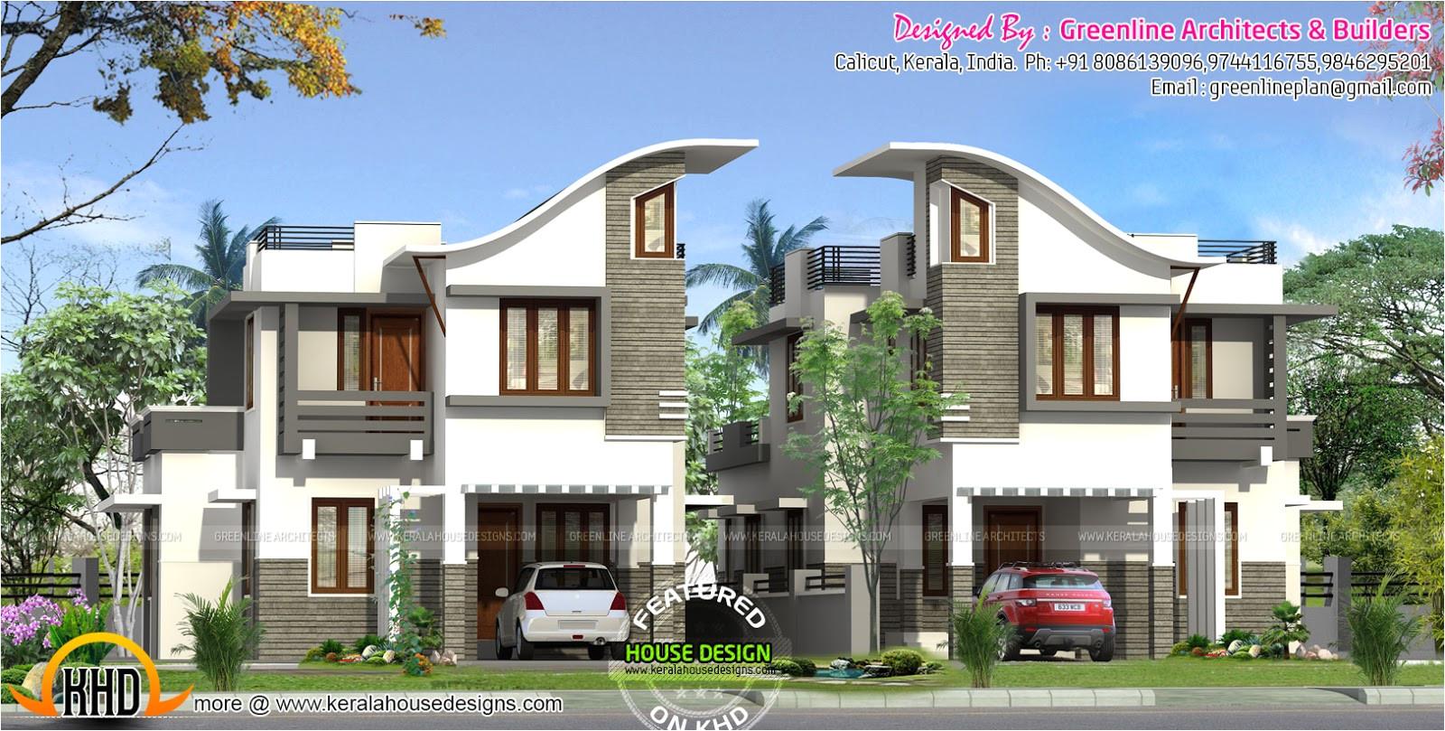 twin house design