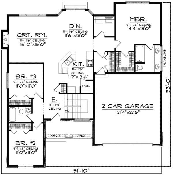 twin house floor plans