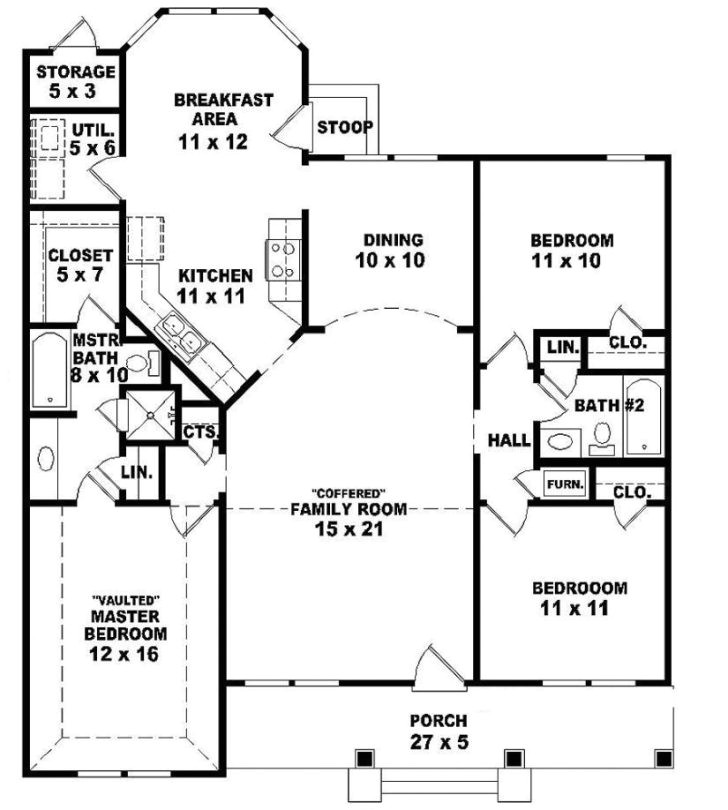 2 story ranch style house plans