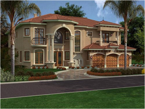 Two Story Florida House Plans Florida House Plan 5 Bedrooms 5 Bath 5743 Sq Ft Plan