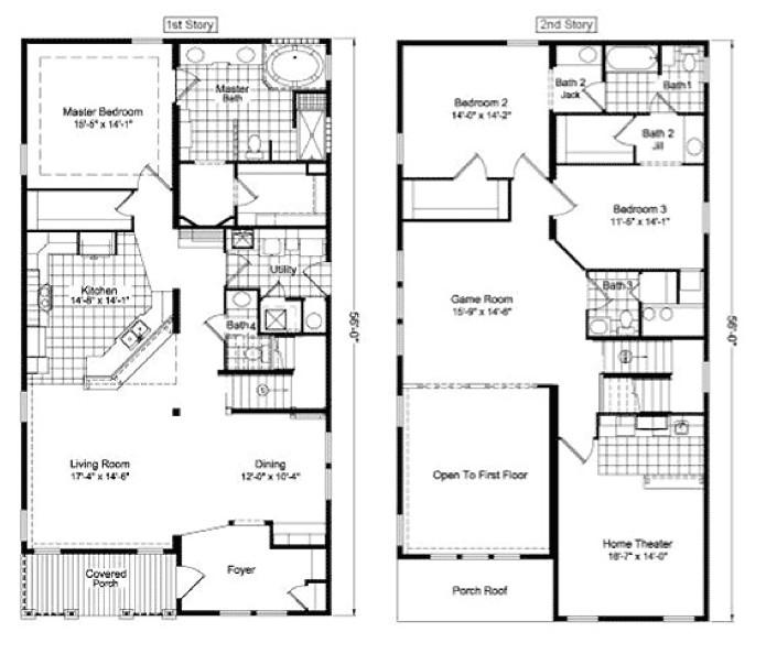 2 story home design plans