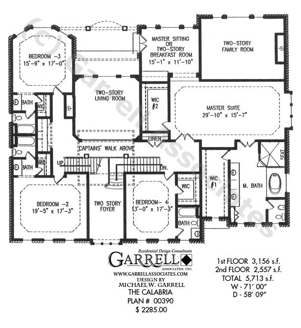 calabria house plan