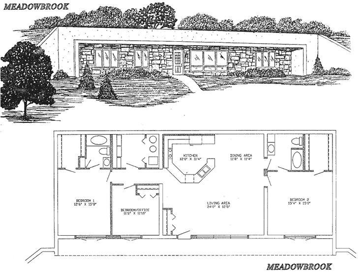 Underground Home Plan 25 Best Ideas About Underground House Plans On Pinterest