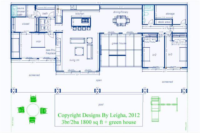 underground house plans blueprints