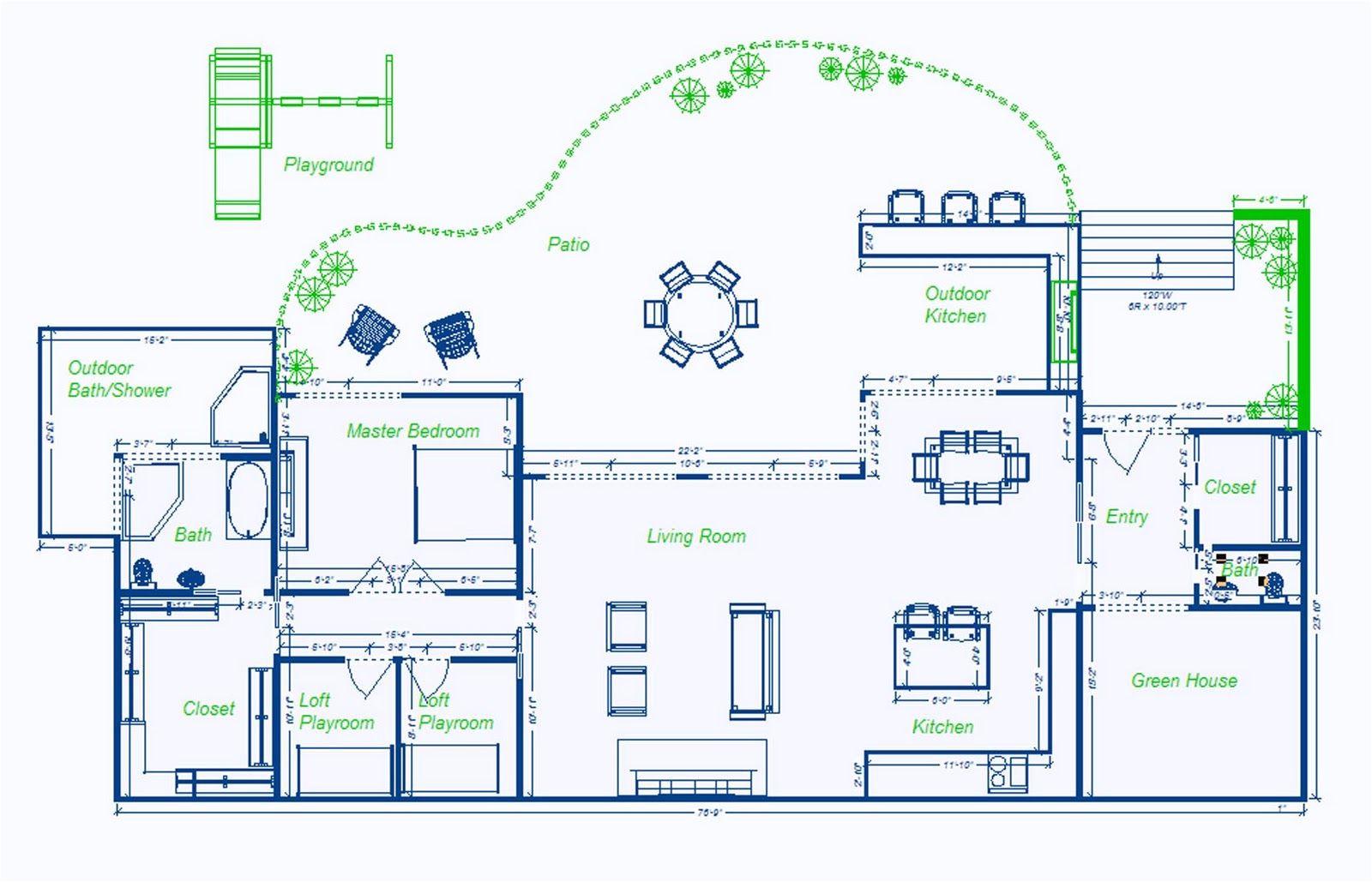underground house plans designs