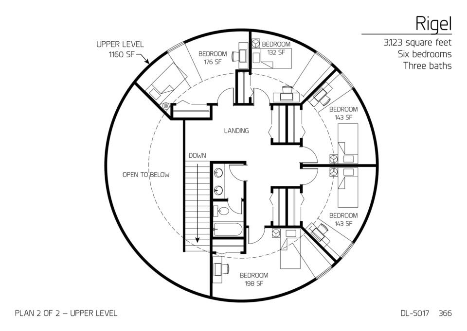 floor plan dl 5017