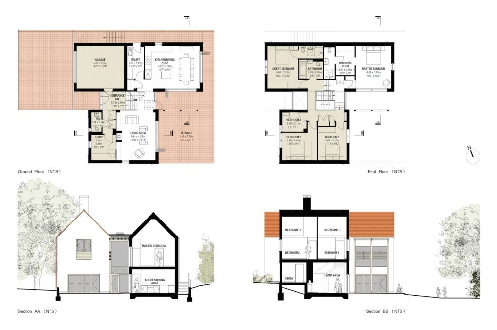 unique small floor plans for new homes