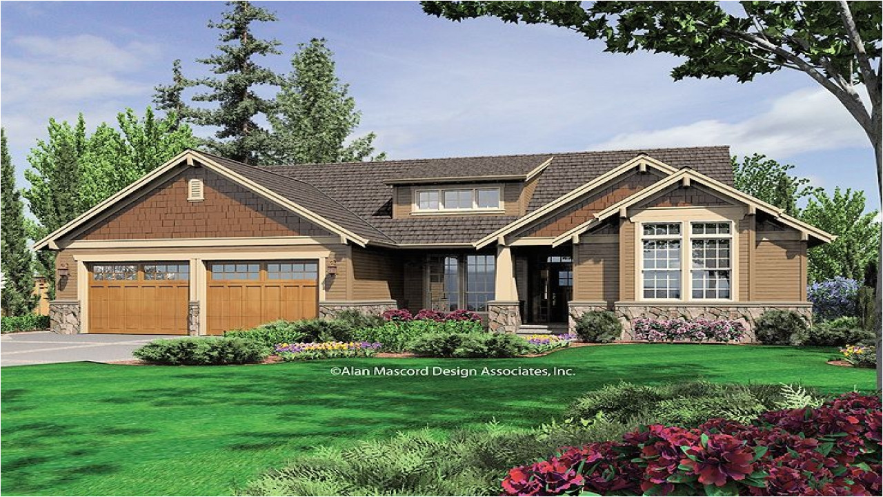 6bbc88aabefb5b5d craftsman style house plans for ranch homes vintage craftsman house plans