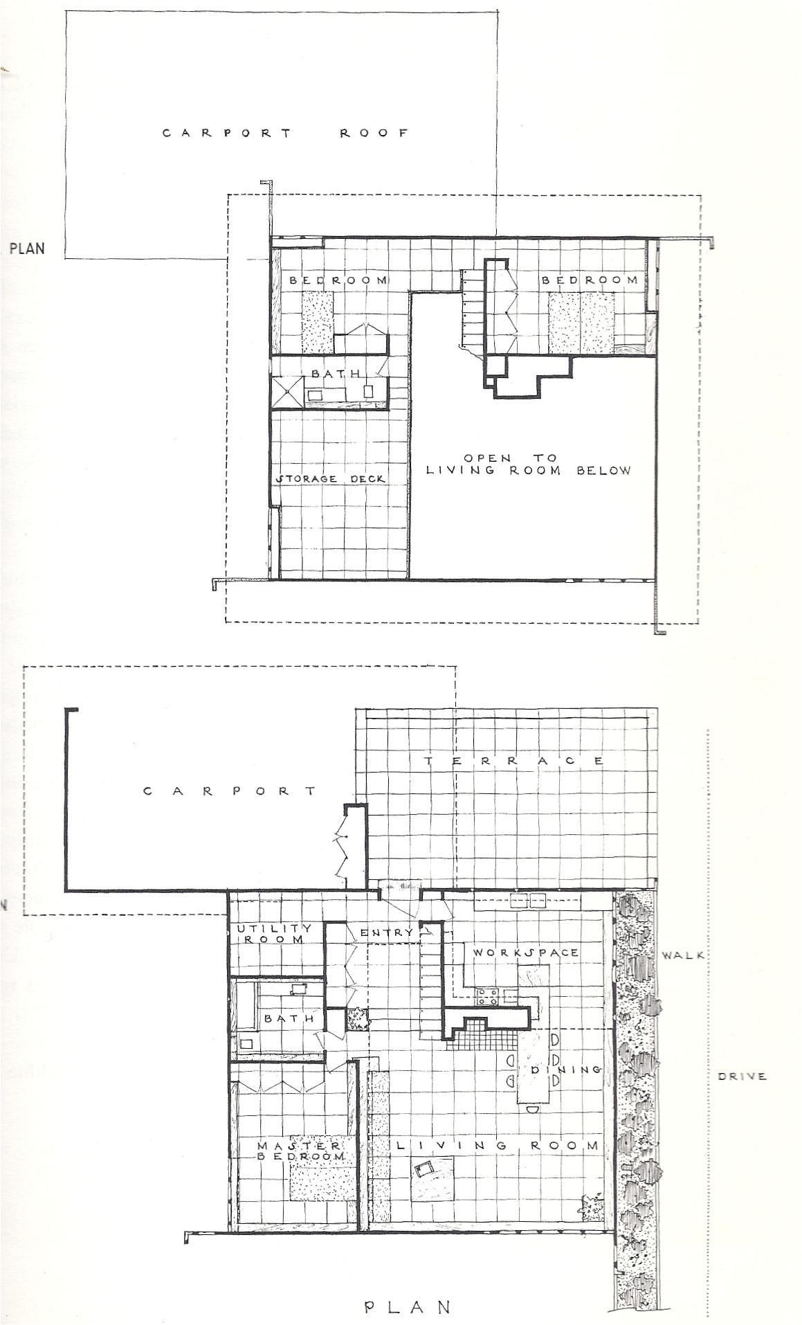 usonian housing project 1957