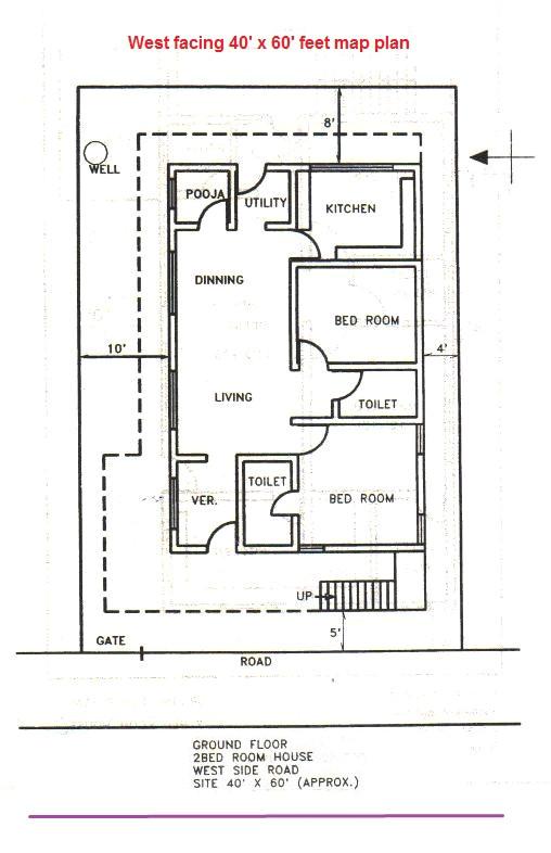vastu home plan for west facing plot plougonver com