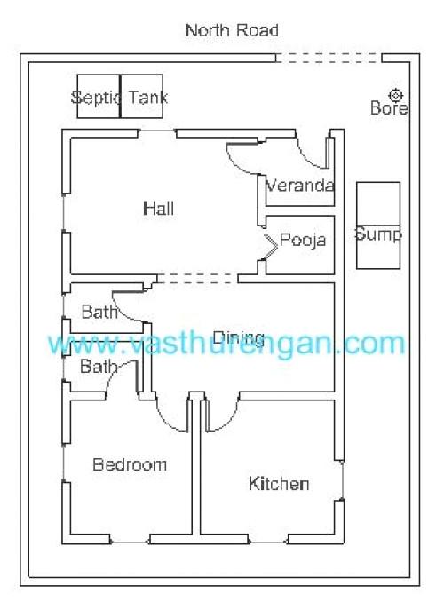 Vastu Home Plans for north Facing Vastu Plan for north Facing Plot 2 Vasthurengan Com