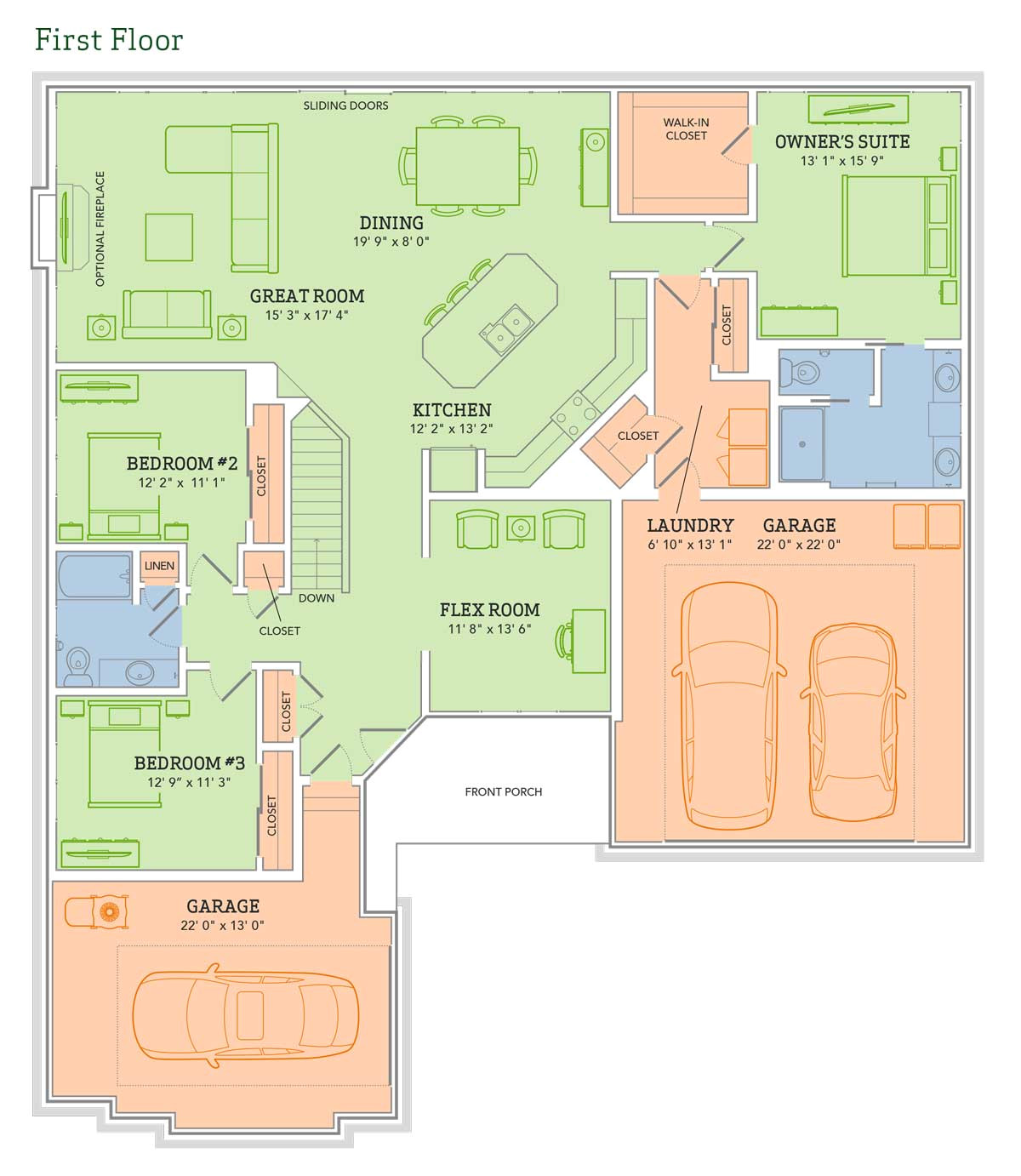 Veridian Homes Floor Plans the Mason Home Plan Veridian Homes