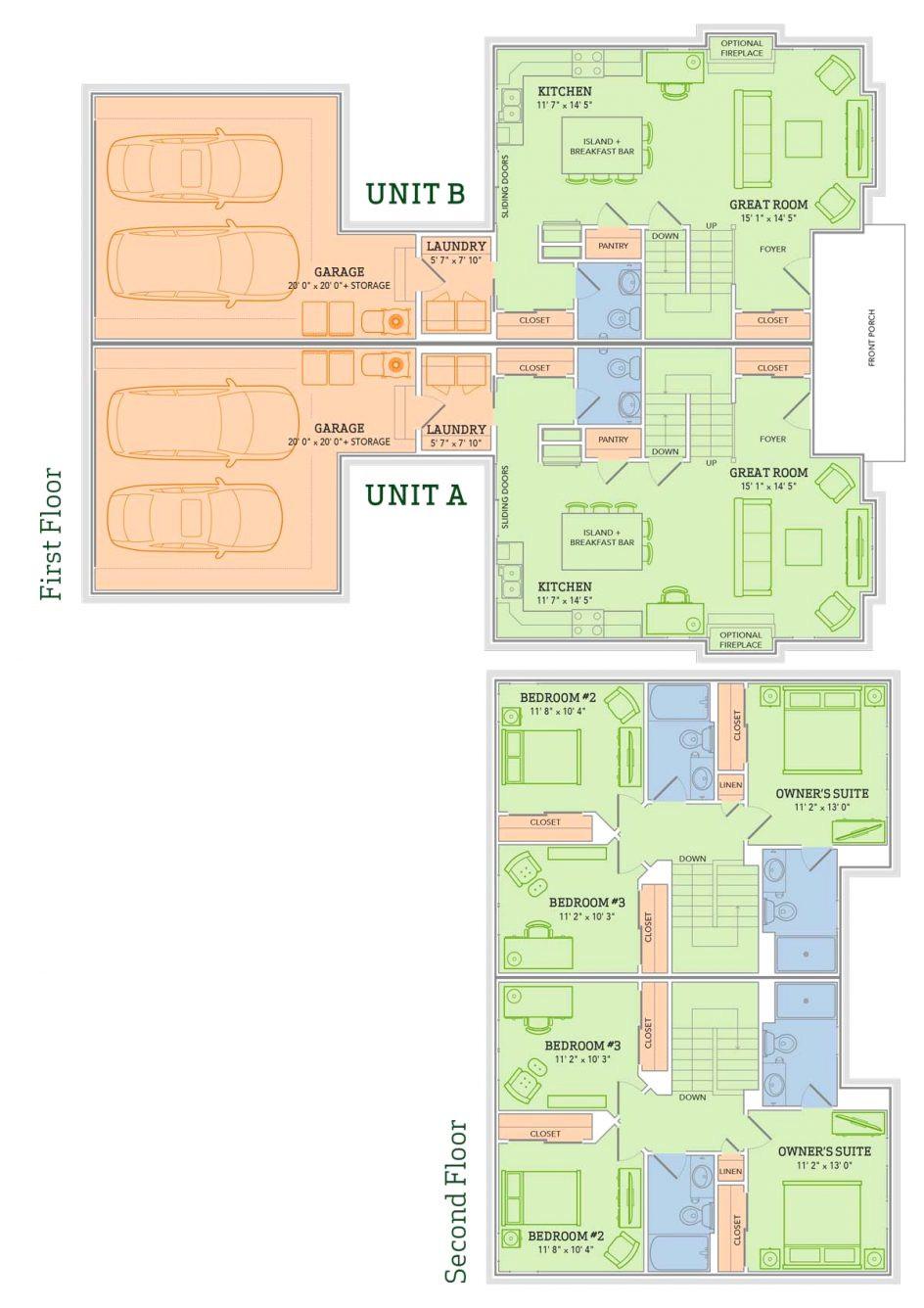 veridian homes floor plans