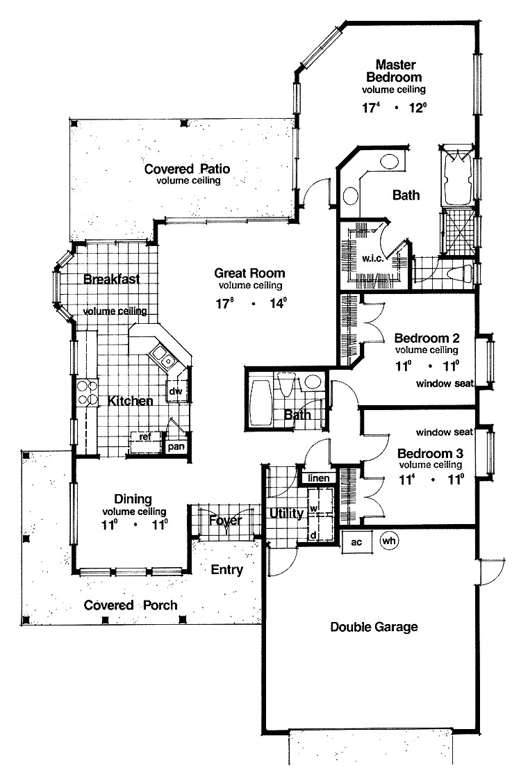 house plans for a narrow lot