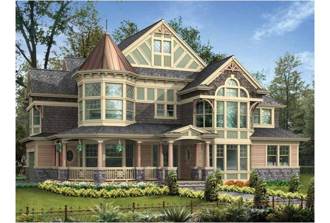 victorian house plans with turrets addition