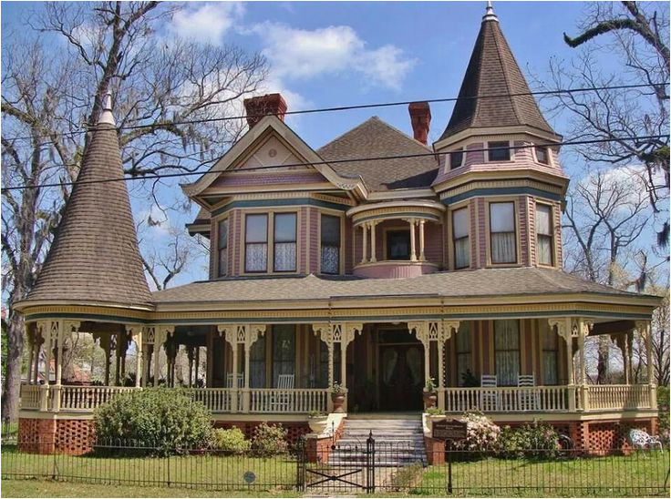 victorian house plans with turrets image