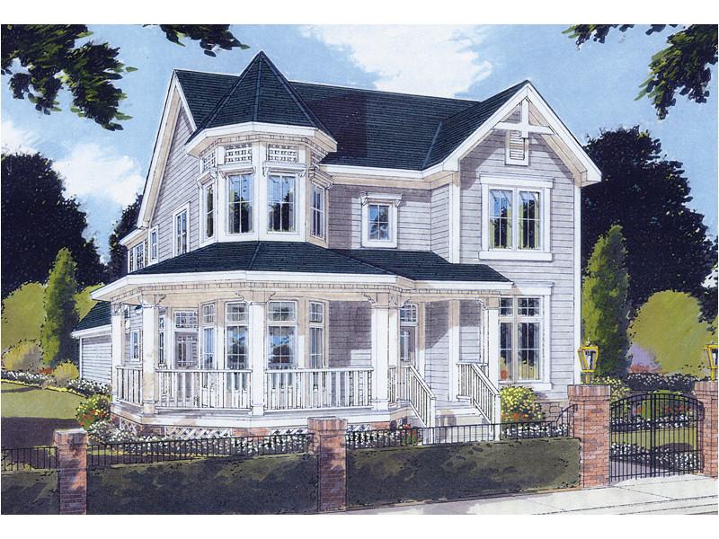 Victorian Home Plans Wrap Around Porch Saguenay Victorian Home Plan 065d 0200 House Plans and More