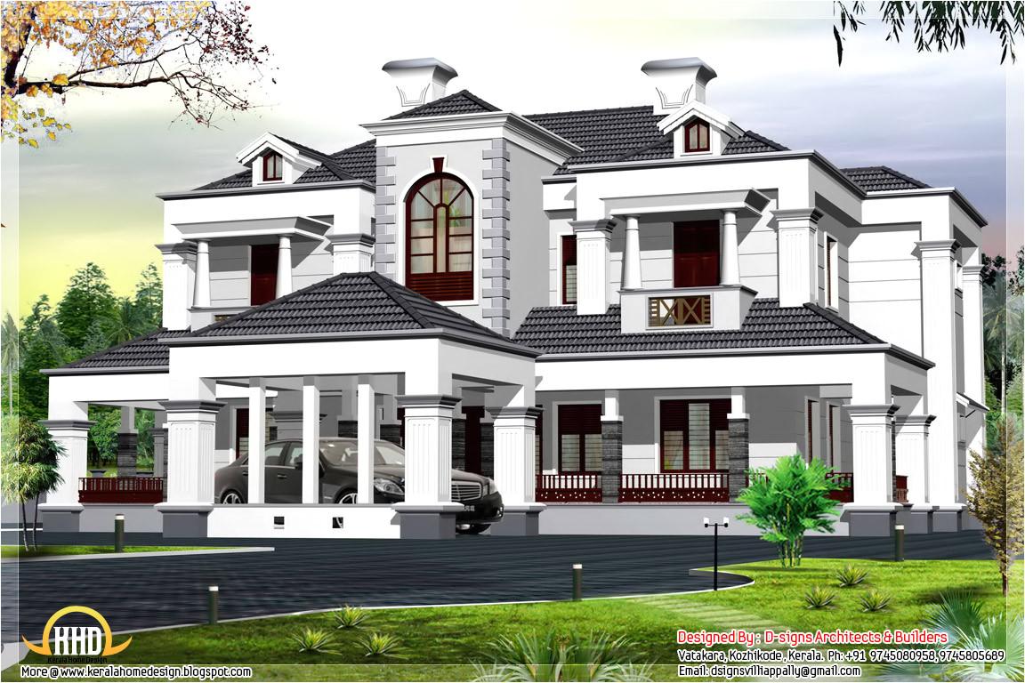 victorian style 5 bhk home design