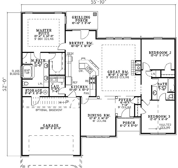 exceptional view house plans 12 house plan top view from window