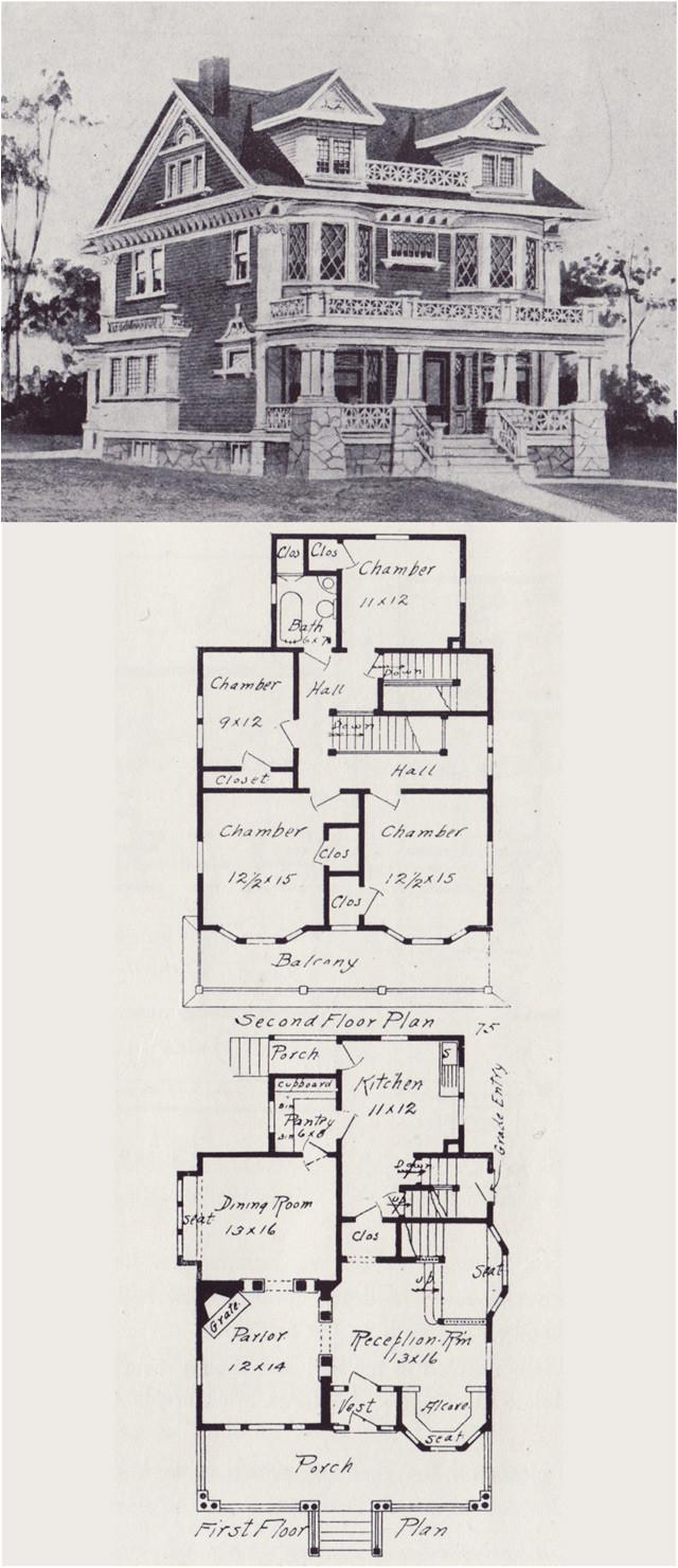 vintage floor plans
