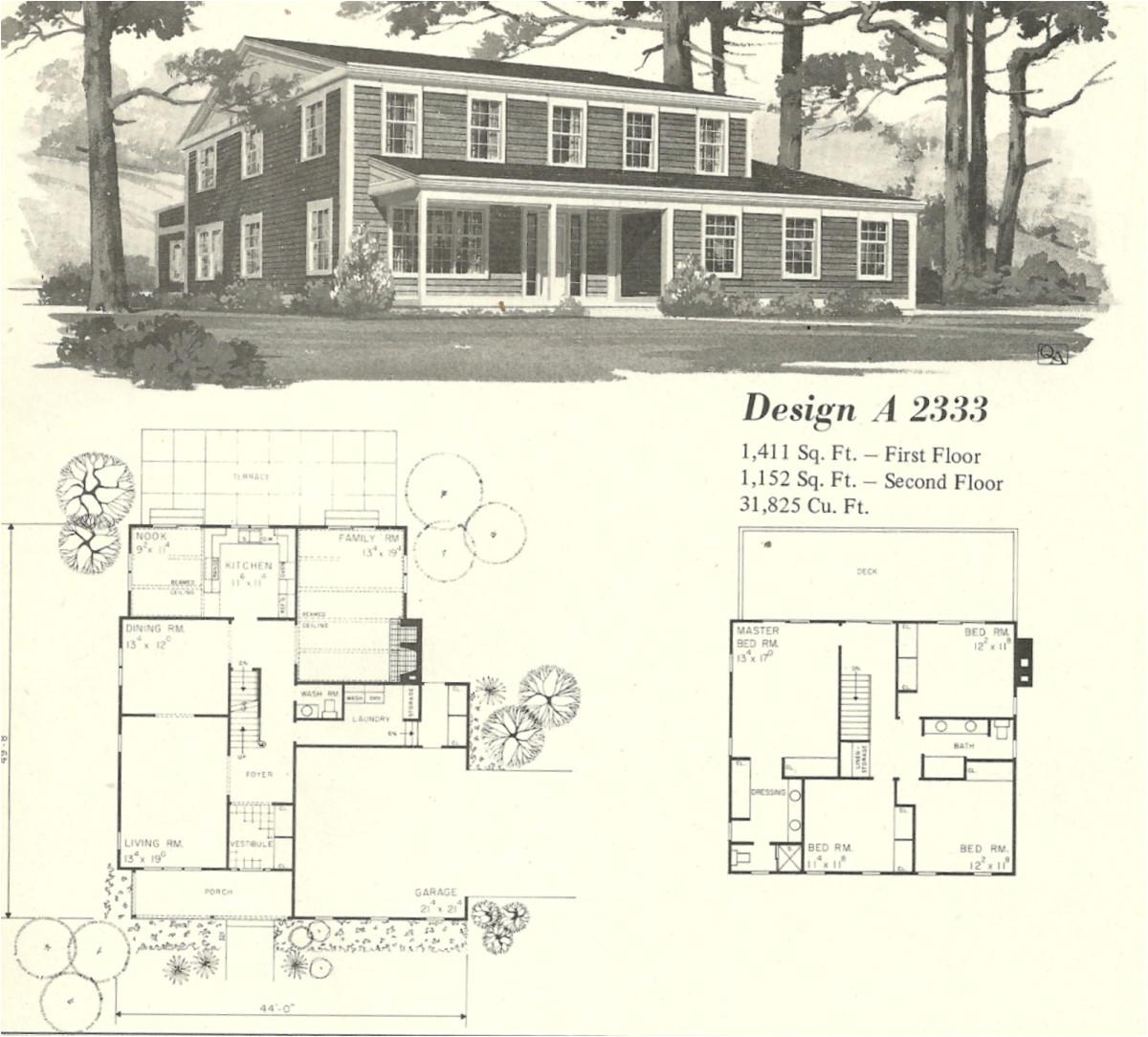 vintage house plans farmhouse 4
