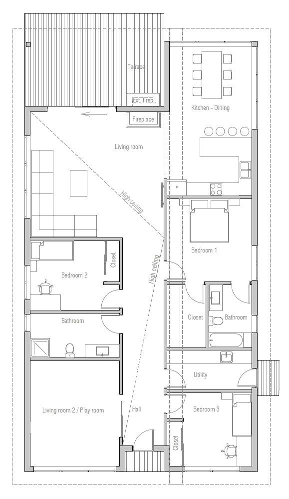 visio stencils home floor plan