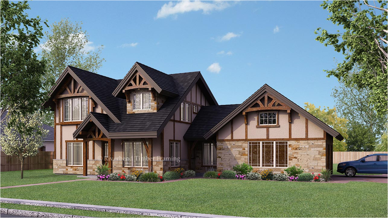 timber frame house plans with walkout basement