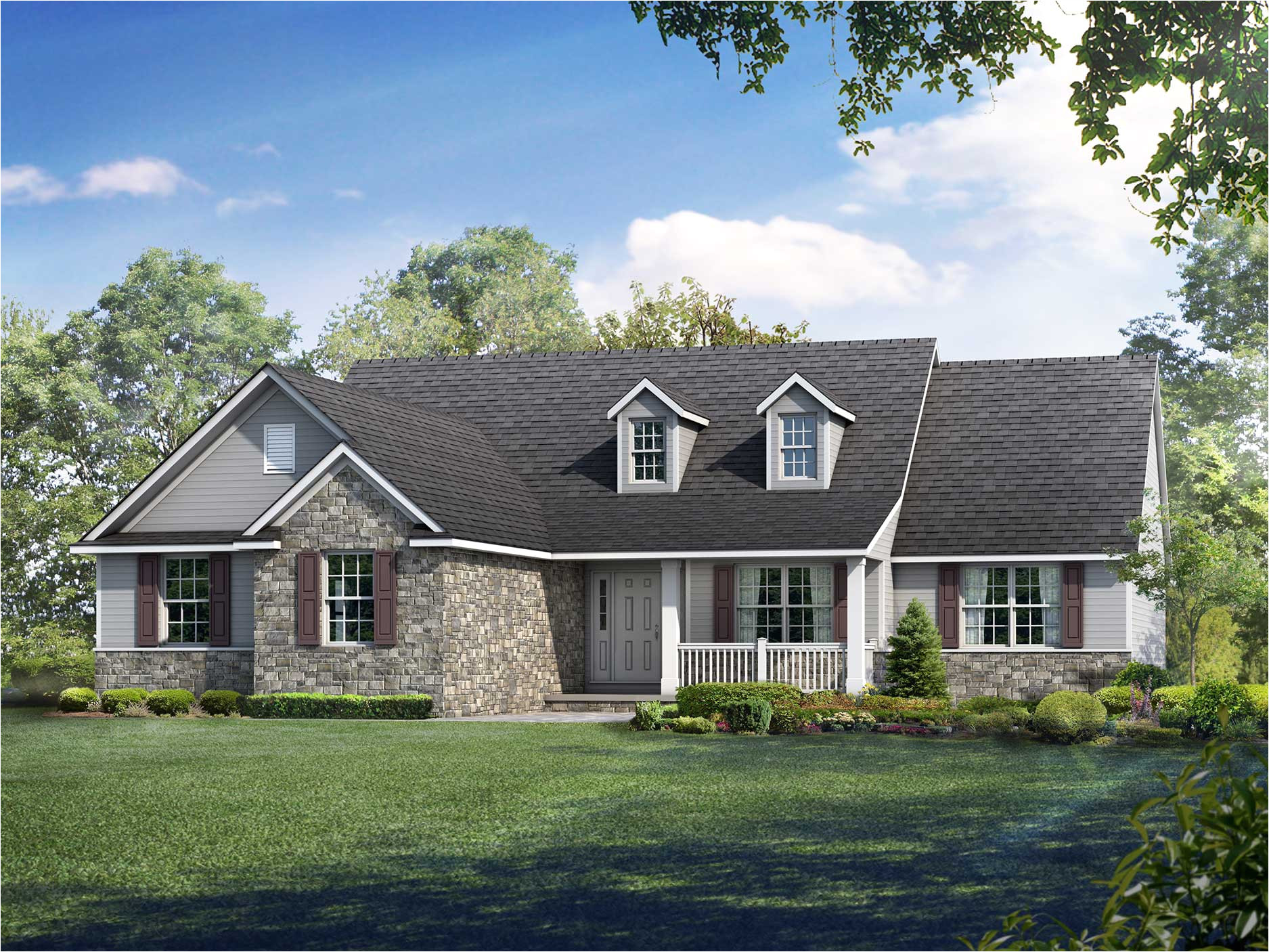 Wayne Homes House Plans Ranch House Floor Plans the Camden Wayne Homes
