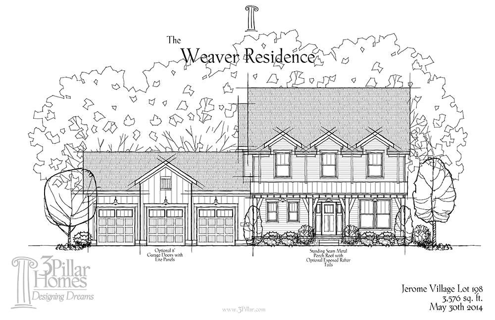 weaver custom homes floor plans fresh 12 1024x756 1