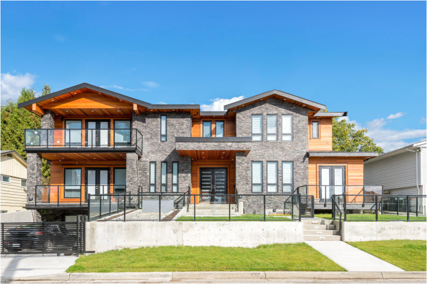 west coast contemporary home exteriors