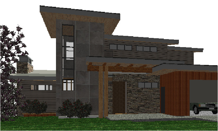 west coast contemporary home design mountain home