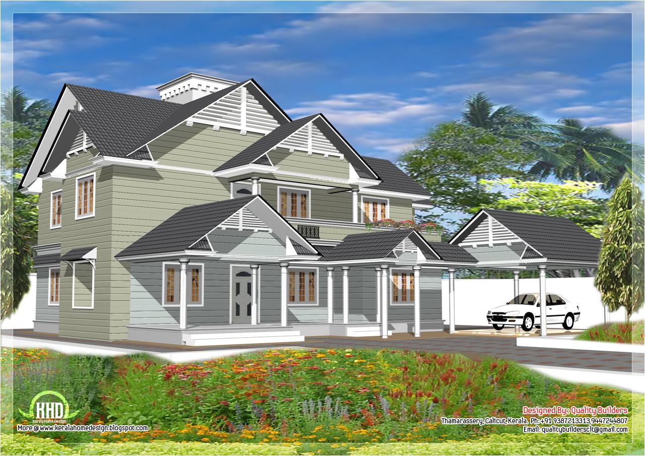 western style house design