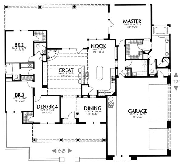 draw house plans free