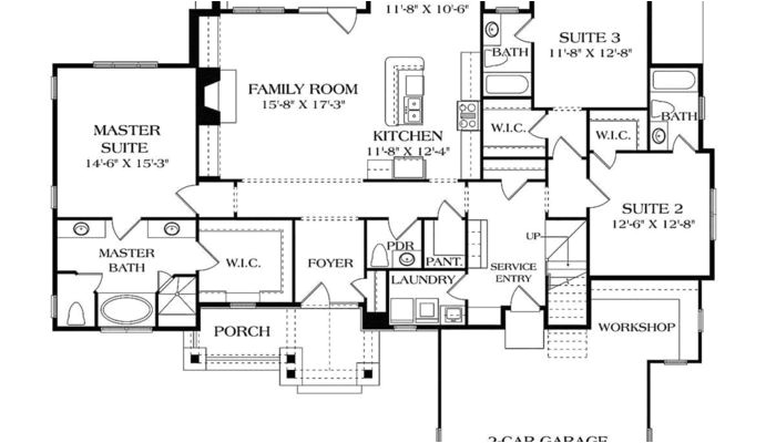 wide open house plans