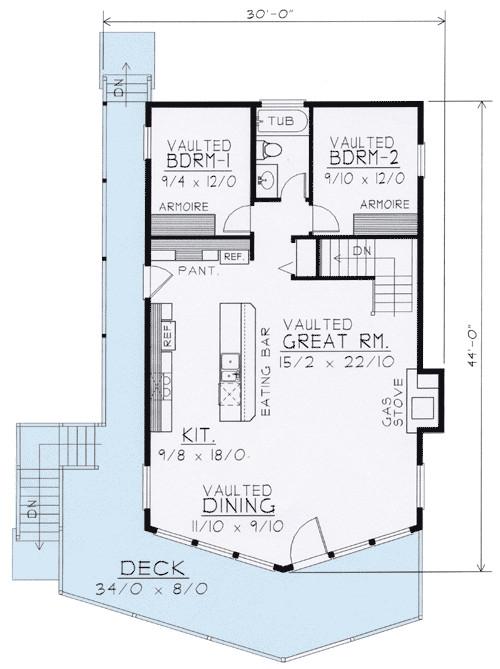 Wide Open House Plans Wide Open Lakefront Home Plan 14001dt 1st Floor Master