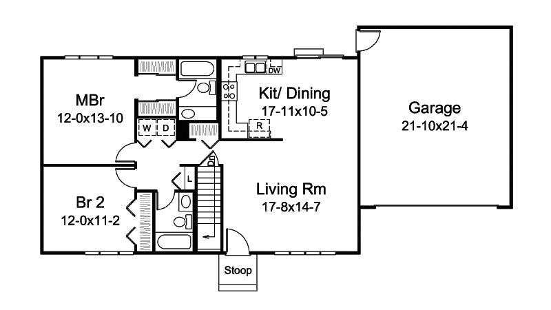 wide shallow lot house plans